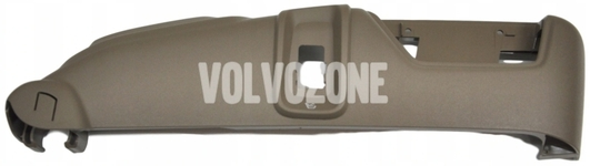Front seat side panel passenger side P2 (2007-) XC90 electrically adjustable seats, massage, ventilation, mocca brown