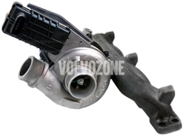 Turbocharger 2.4D/D5 (-2010) P1 S40 II/V50, P3 (-2009) S80 II/V70 III/XC60/XC70 III