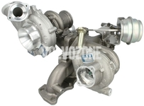 Low pressure turbocharger 5 cylinder biturbo engines 2.4 D/D4/D5 (2009-) P3