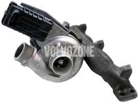 Turbocharger 2.4D/D5 P1 (-2010) C30/C70 II/S40 II/V50, P3 (-2009) S80 II/V70 III/XC70 II/XC60