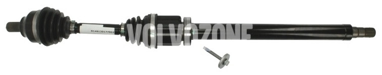 Drive shaft right 5 cylinder engines 2.4/T5 2.4D/D5 P1 C30/C70 II/S40 II/V50 gearbox AW55-50/51SN