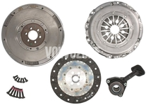 Clutch kit + double mass flywheel + release bearing (new type) P1 MTX75 1.6D