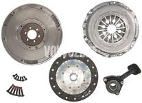 Clutch kit + double mass flywheel + release bearing (new type) P1 MTX75 1.6D