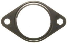 DPF filter exhaust pipe gasket 2.0D P1 C30/C70 II/S40 II/V50, P3 S80 II/V70 III 2x on vehicle