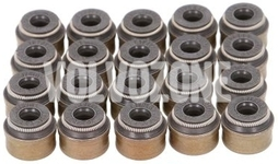 Valve seal (20x set) inner diameter 6mm, 5 cylinder diesel engines D3/D4/2.4D/D5 P1 P2 P3