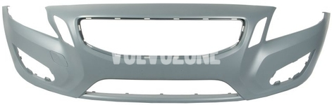Front bumper without headlight washer hole P3 (-2013) S60 II/V60