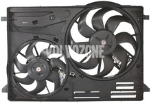 Radiator cooling fan P3 with 2 fans (DR01) old type