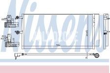 Air conditioner condenser SPA S60 III/V60 II(XC)/XC60 II, S90 II/V90 II(XC) with dryer