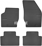 Rubber carpets P2 XC90 - off black