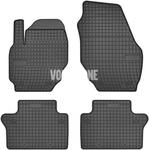 Rubber carpets P3 S60 II(XC)/V60(XC) S80 II/V70 III/XC70 III - off black