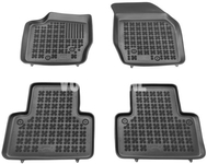 Rubber carpets with raised edges P2 XC90 - off black