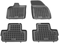 Rubber carpets with raised edges P1 C30 - off black