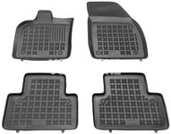 Rubber carpets with raised edges P1 V50 - off black