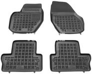 Rubber carpets with raised edges P3 S60 II(XC)/V60(XC)/XC60 - off black