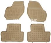 Rubber carpets with raised edges P3 S60 II(XC)/V60(XC)/XC60 - beige