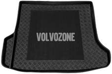 Cargo rubber mat with anti-slip field P2 V70 II/XC70 II
