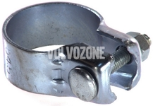 Steel exhaust clamp - catalytic converter - middle silencer 1.6/1.8/2.0 (-1999) S40/V40