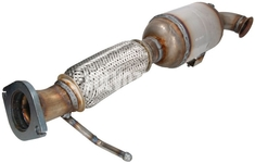 Catalytic converter 2.0D with/without DPF P1 C30/C70 II/S40 II/V50, P3 S80 II/V70 III