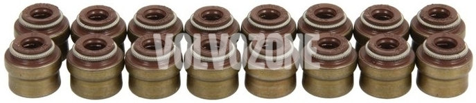 Valve seal (16x set) 4 cylinder gasoline/diesel engines  (2014-) P1 P3 SPA/CMA