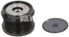 Alternator freewheel 150A/180A P1 P3 1.6D2 C30/S40 II/V40 II (XC)/V50 S60 II/V60 II/V70 III