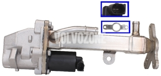 EGR valve + control valve + cooler + gasket 2.4D/D5 P2 (-2006)(without DPF) S60/S80/V70 II/XC70 II/XC90