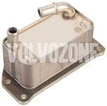 Engine oil cooler 5 cylinder engines D3/D4/2.4D/D5 (2011-) P1 P3