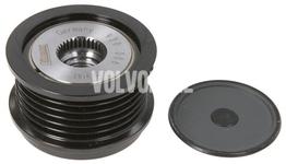 Alternator freewheel 120A P1 1.6D2 C30/S40 II/V50