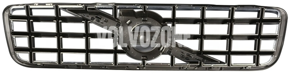 Radiator grill P2 XC90 with big 125 mm logo without emblem